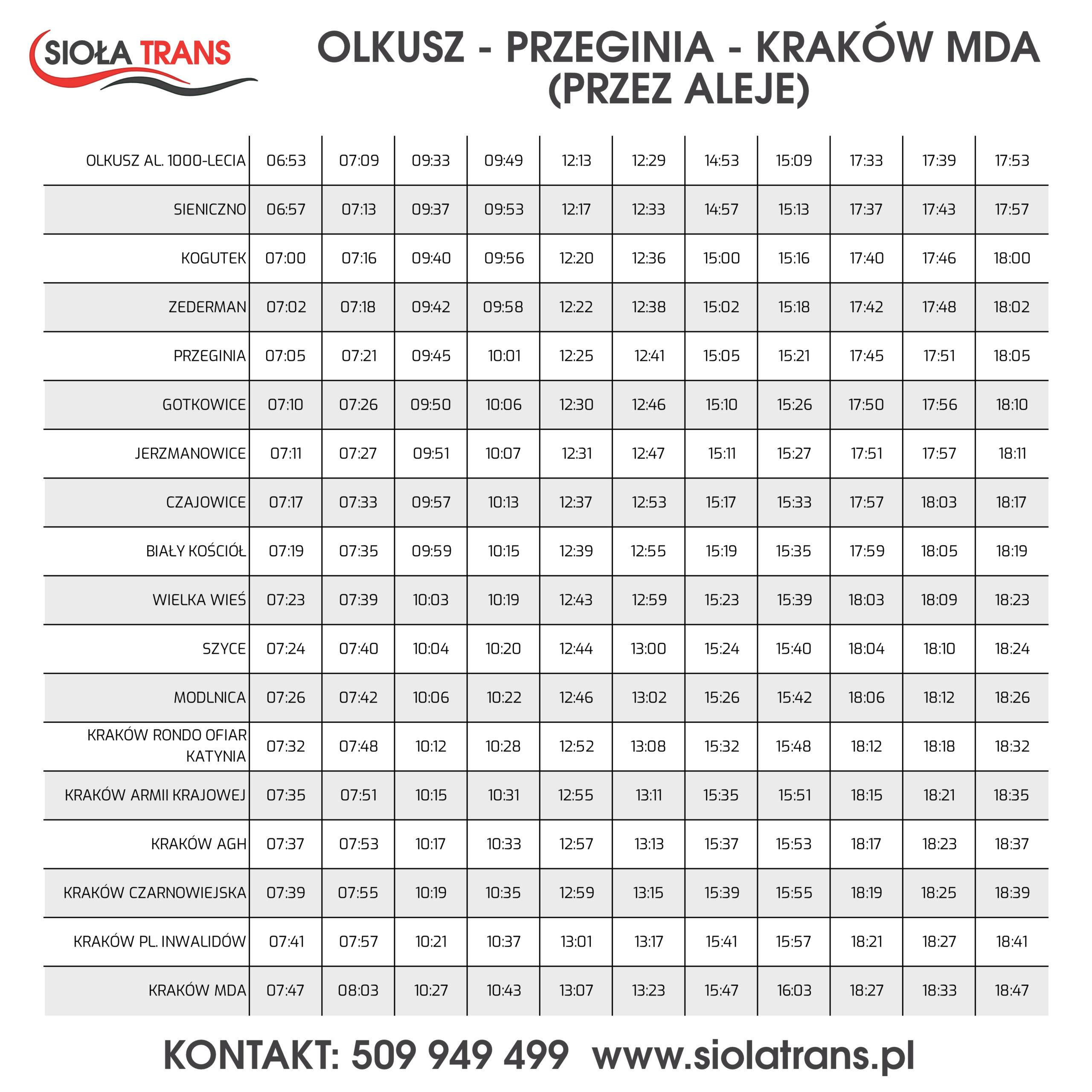 siola_trans_olkusz_krakow_przez_aleje